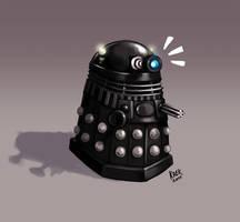 Tiny Winy Dalek by Kaek