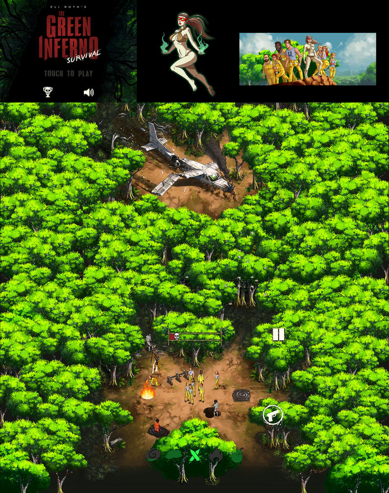 The Green Inferno Survival by Kaek