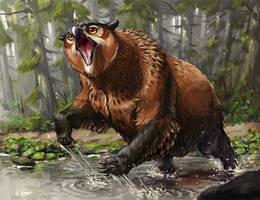 Owlbear fanart