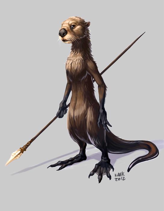 Otter Sapiens by Kaek