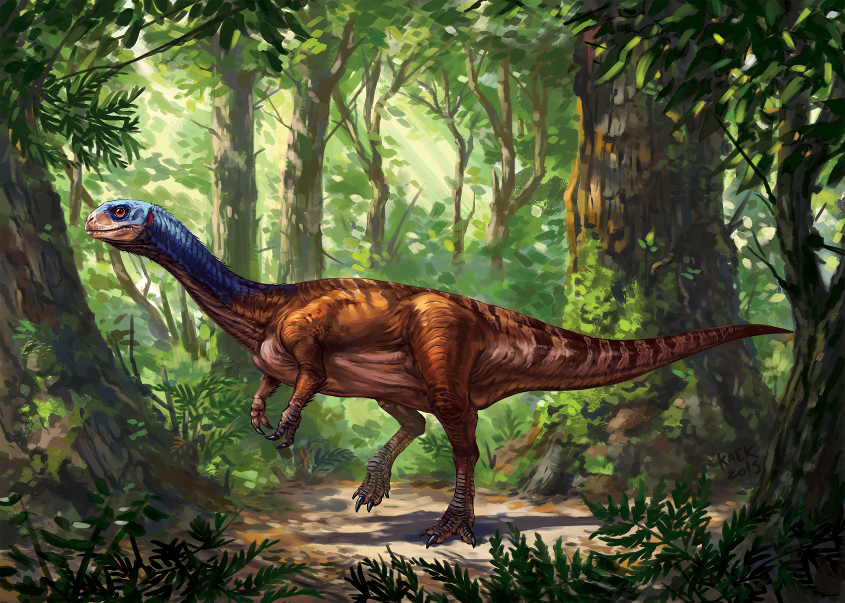 Utahraptor Coloring Page