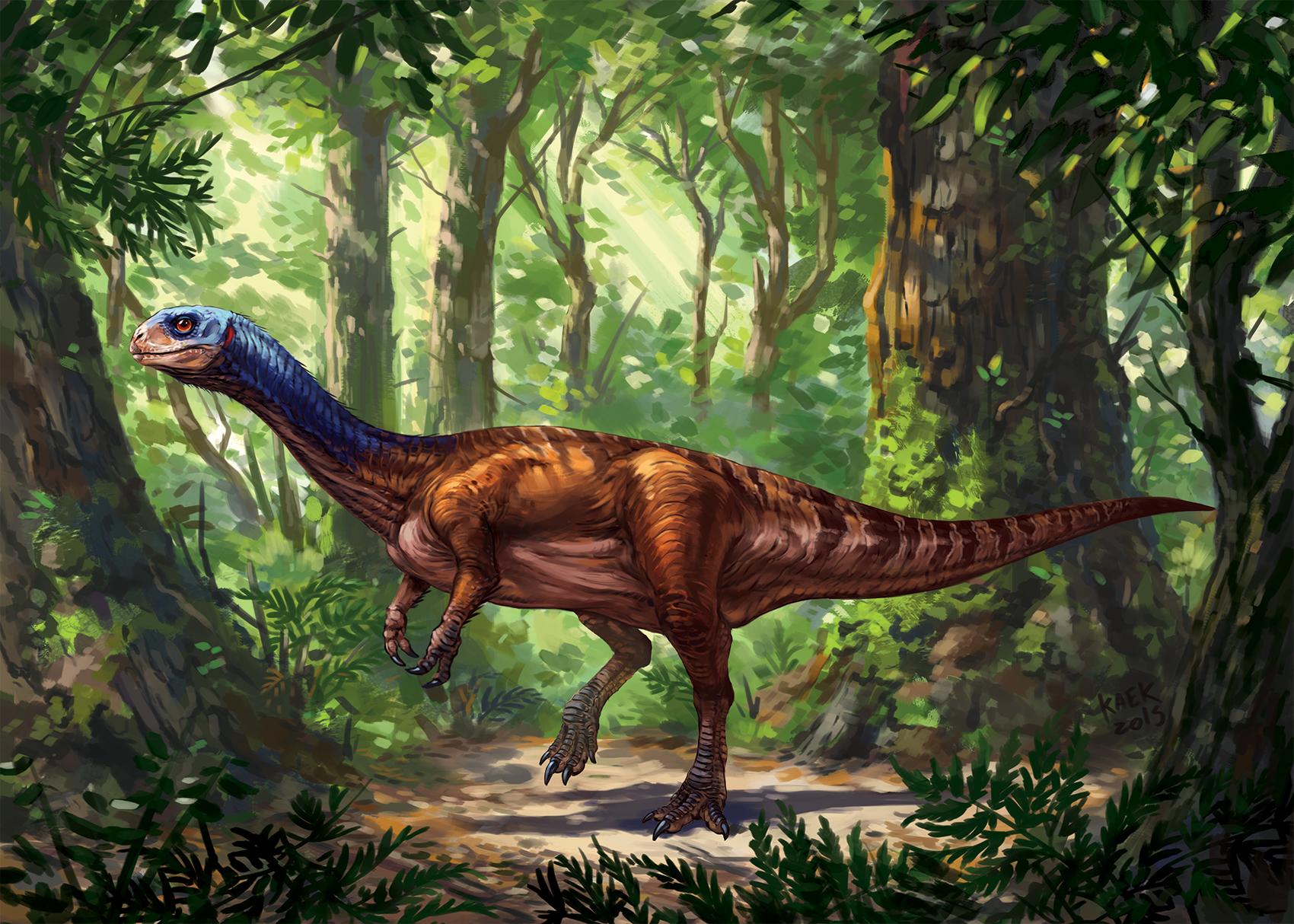 Chilesaurus diegosuarezi by Kaek
