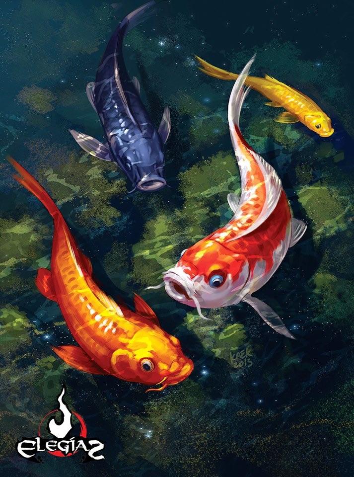 Koi fish by kaek on deviantart for Koi fish games