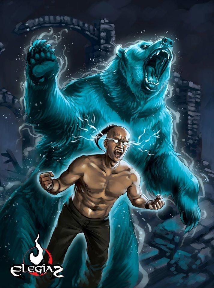 Bear spirit by Kaek