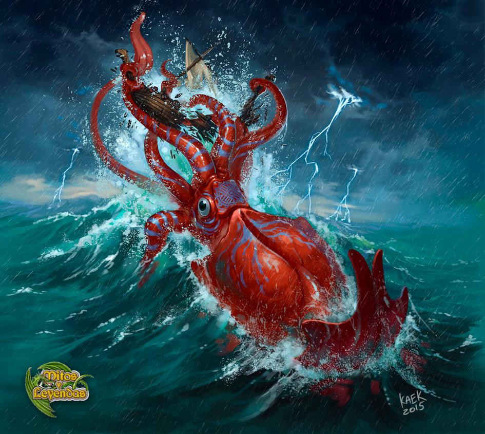 Kraken by Kaek