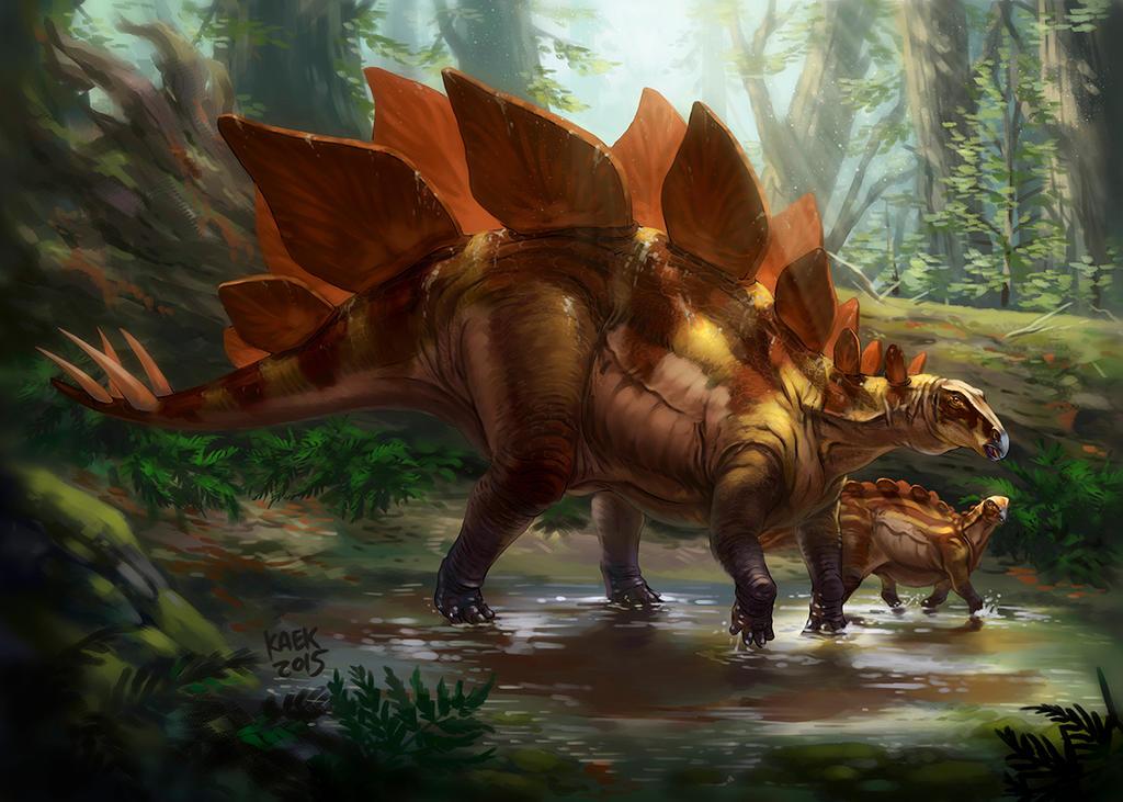 Stegosaurus armatus by Kaek