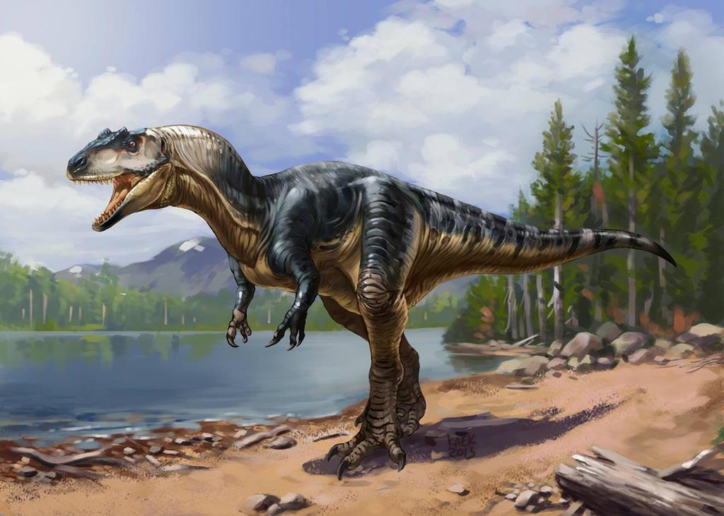 Allosaurus by Kaek