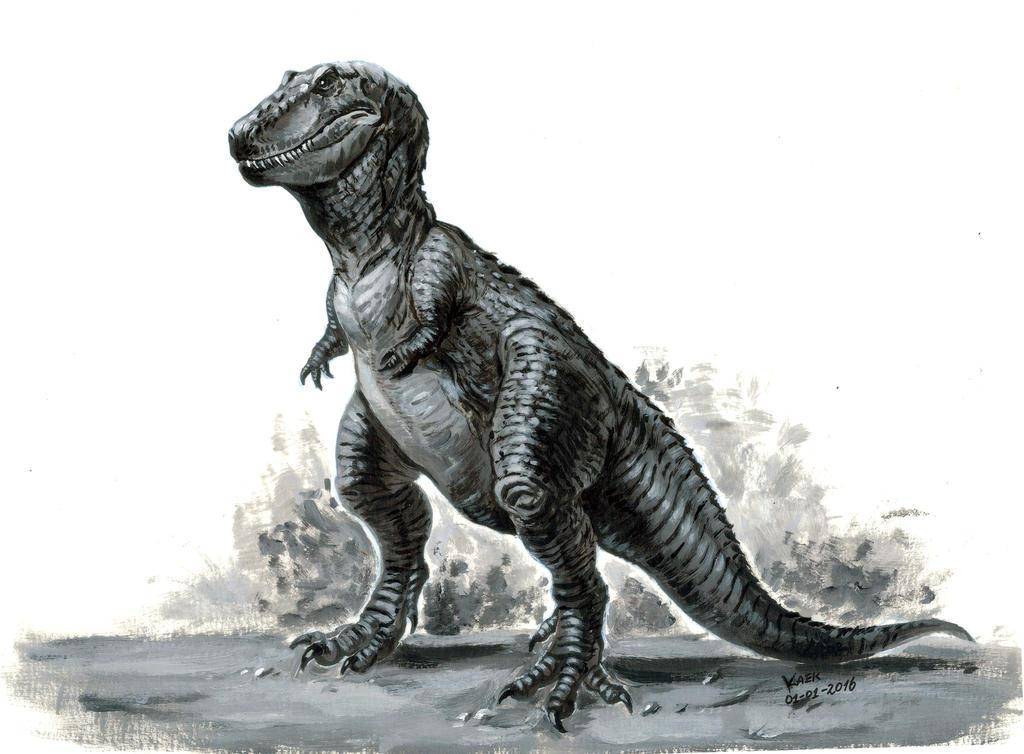 Retro Tyranosaurus Rex by Kaek