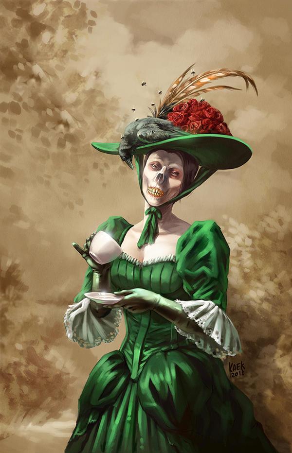 Lady Ghoul by Kaek