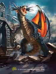 Thevetat Dragon by Kaek