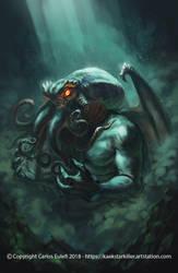The Call of Cthulhu by Kaek