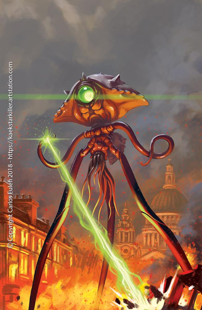 War of the Worlds by Kaek