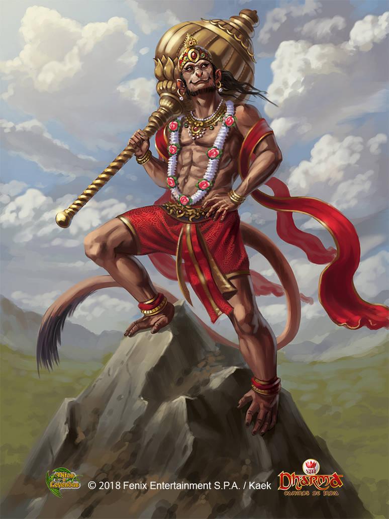 Hanuman by Kaek