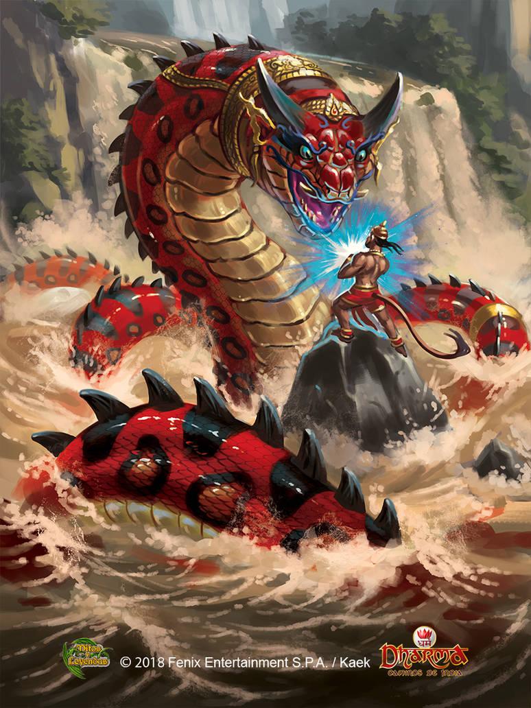 Surasa Queen Naga by Kaek