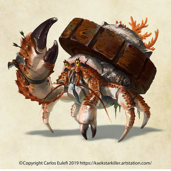 The Almighty Wheelcrab by Kaek