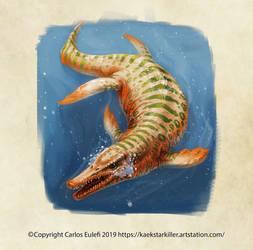 Pliosaurio de Calama