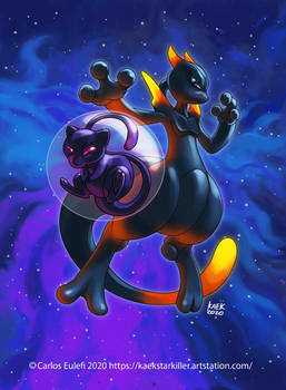 Shadow Mew and Shadow Mewtwo