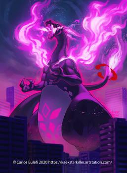 Gigantamax shadow Charizard