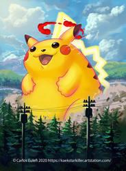 Gmax Pikachu