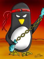 Ninja Penguin by matstar102
