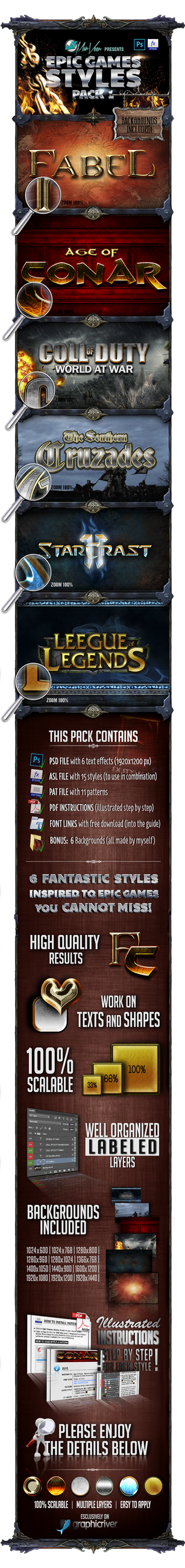 Epic Games Style Pack 1
