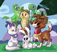 My Little Housepets by TheDoggyGal