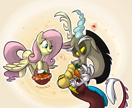 'Only for you, Fluttershy...' by TheDoggyGal