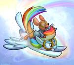 Rainbow Roo