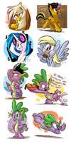 Pony-Twitter Doodles