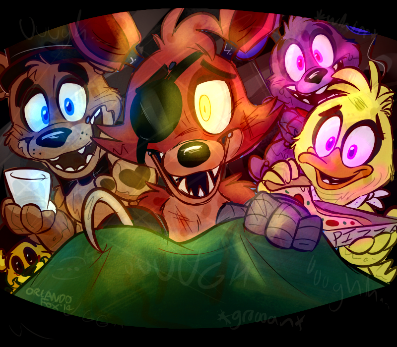 Good night at freddy s by thedoggygal on deviantart