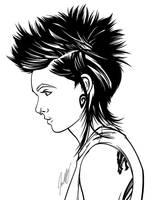Lisbeth - Inks by Jon-Moss