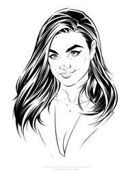 Camila - Inks by Jon-Moss