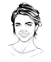 Maia Mitchell - Inks