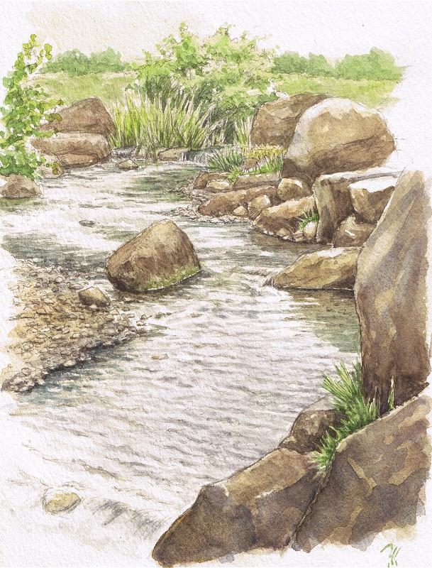A stream by blacktsubu