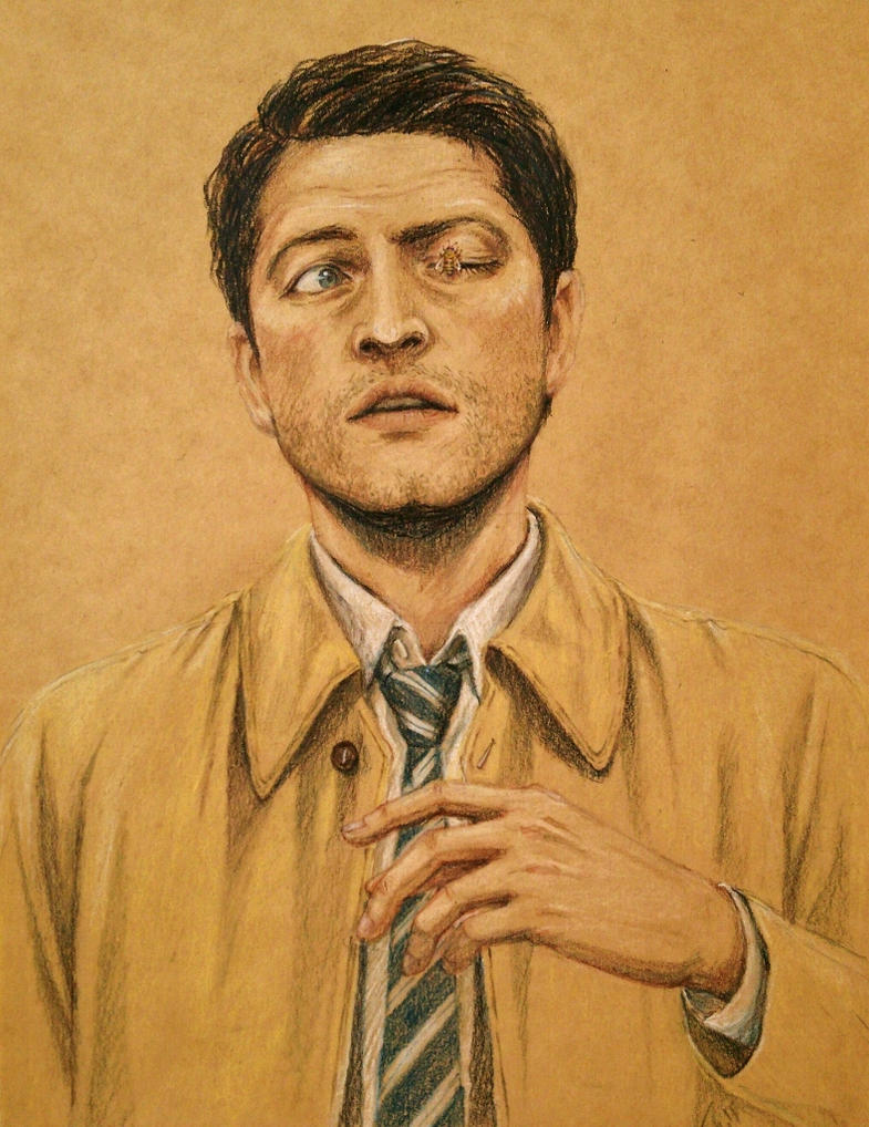 Cas and a bee by blacktsubu