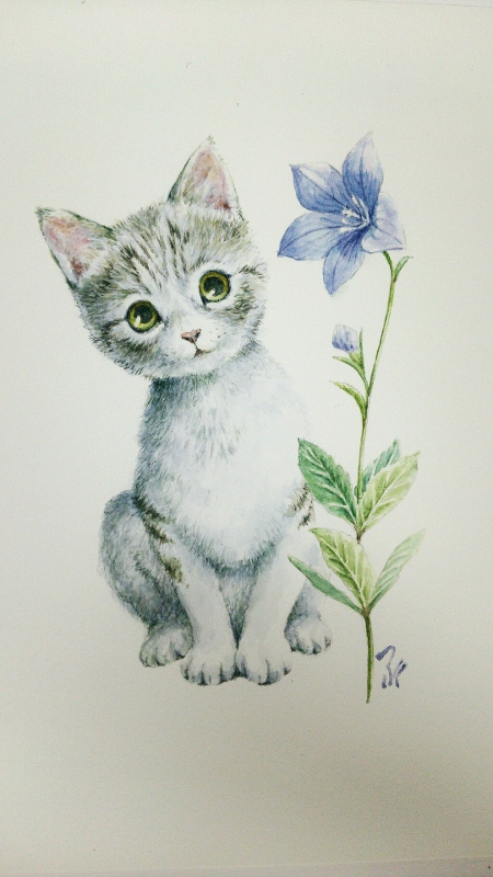 Cat by blacktsubu