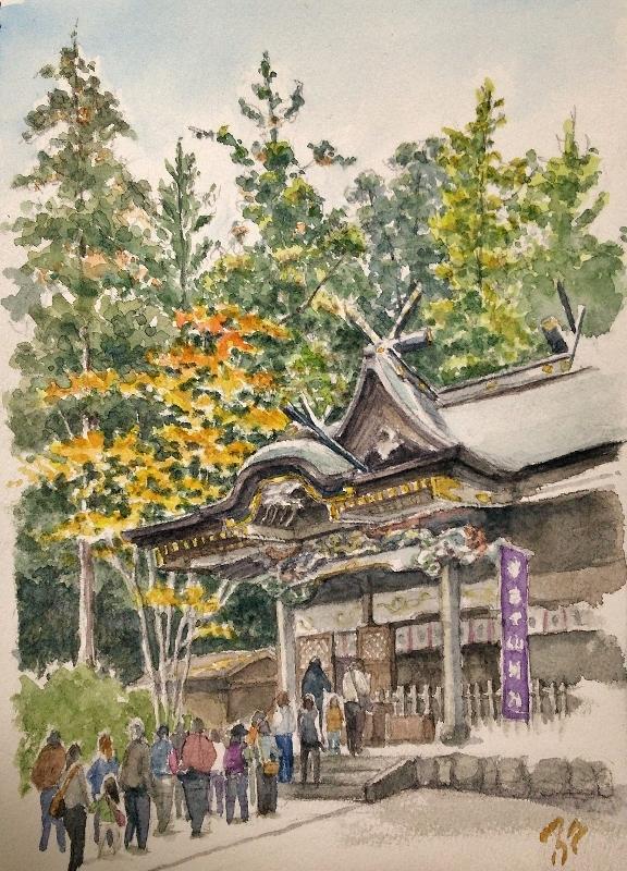 Hodosan shrine by blacktsubu