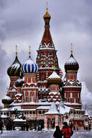 St. Vasil's Cathedral_winter by Lyutik966