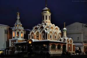 Church of Kazanskoy Mother of God by Lyutik966