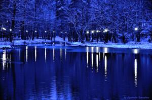 evening park by Lyutik966