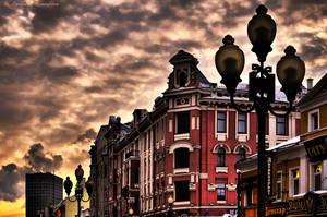 Arbat_sunset by Lyutik966