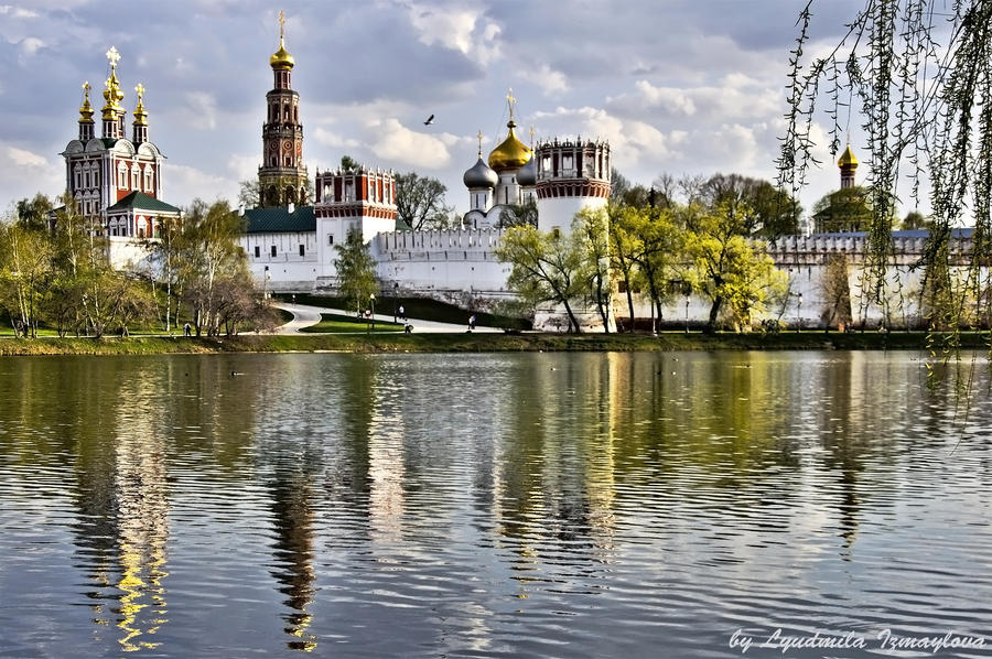 Novodevichy Monastery2 by Lyutik966