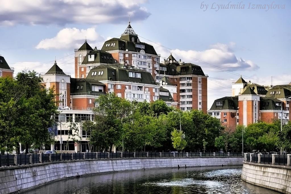 buildings Yauzar by Lyutik966