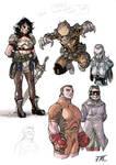 Wonder Woman Redesigns