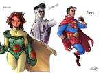 Justice League -Death of Superman Era- Redesigns 2