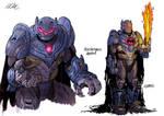 Batman Knightfall Redesign