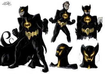 Batman Redesign by EddyNat