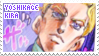 stamp - yoshikage kira by choroxmatsu