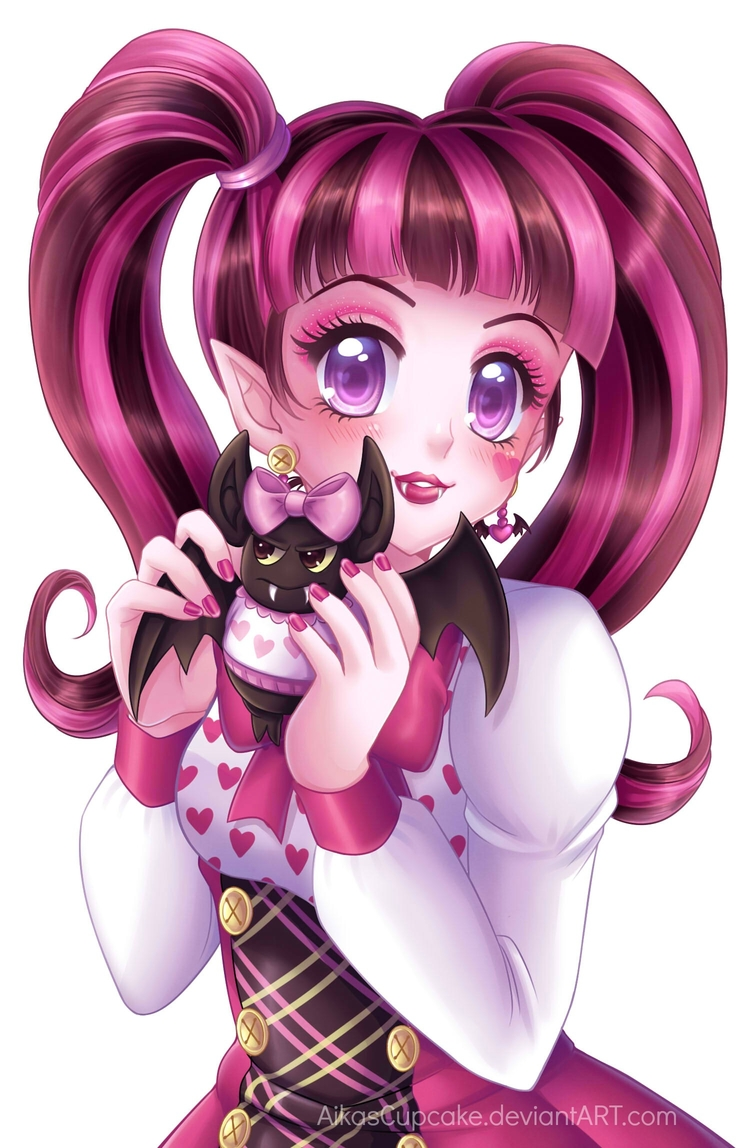 Draculaura - Commission by AikasCupcake