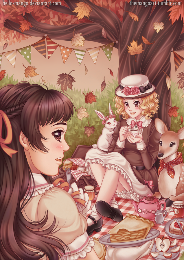 Autumn Picnic by hello-mango